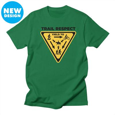 Onewheel trail respect shirt